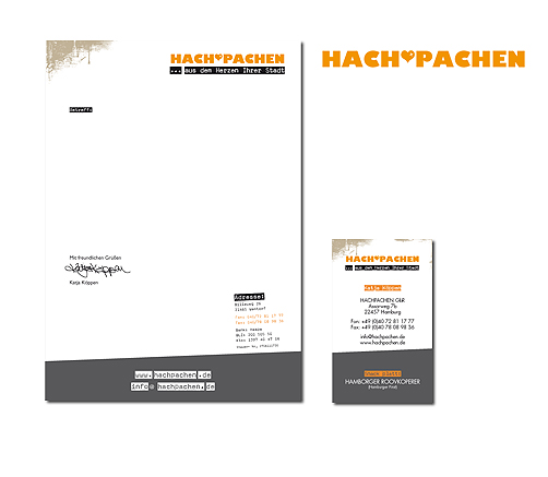 Briefpapier Hachpachen
