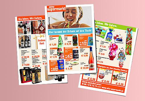Broschüre Otto Supermarkt